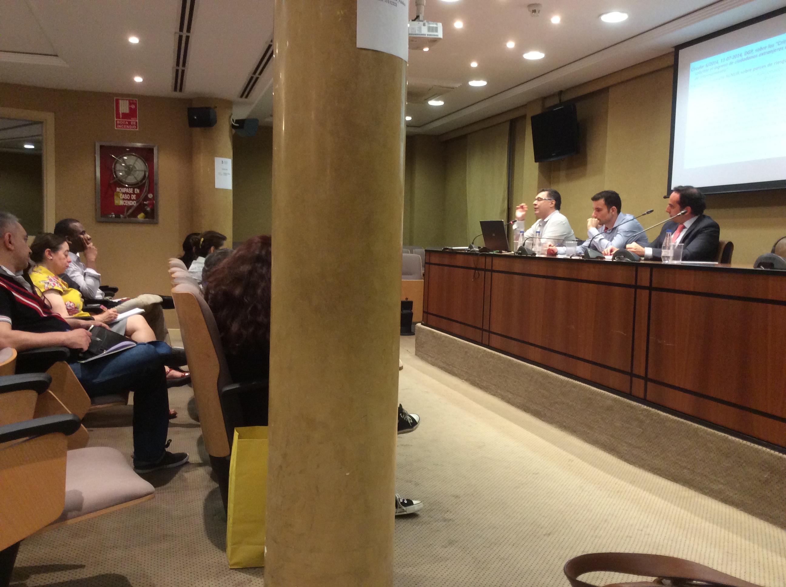 taller sobre expulsiones y su actualidad administrativa y jurisprudencial.