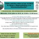 Taller práctico sobre la Ley 14/2013 de Apoyo a Emprendedores y su Internacionalización