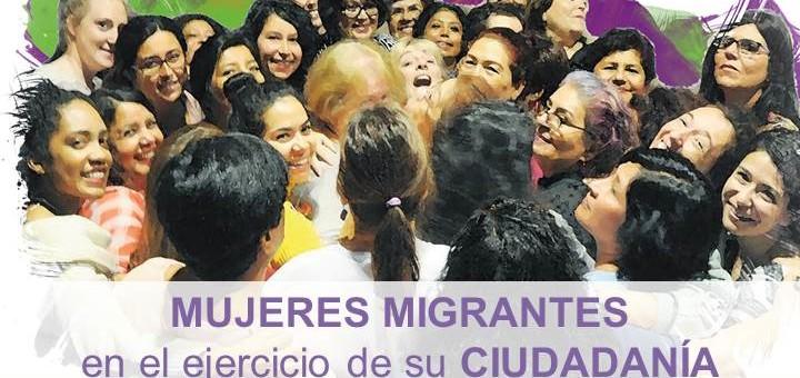 Foro político: Mujeres migrantes en el ejercicio de su ciudadanía